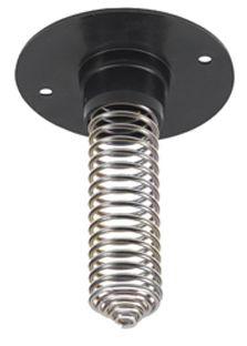 Foderspiral af stål og plastic
